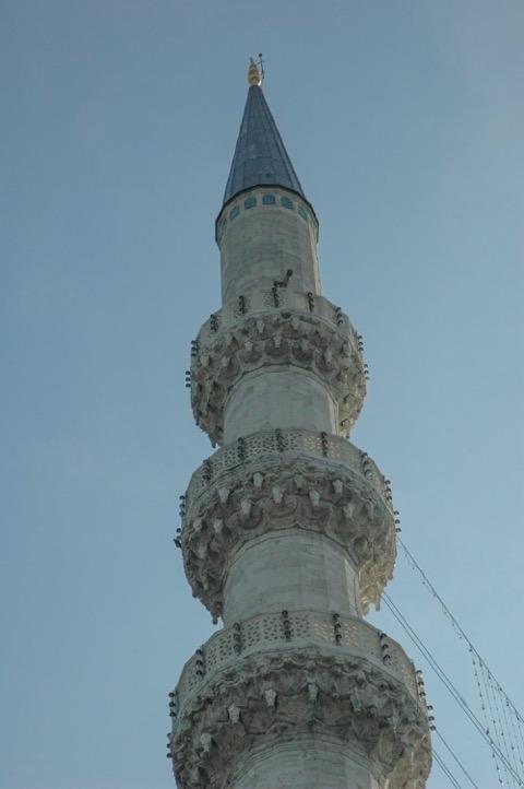 Minaret Mosquée bleue